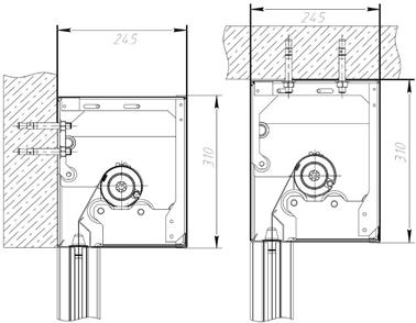 Короб Premium Противопожарных штор при орошении FireTechnics EI 60/EI 120/EI 180