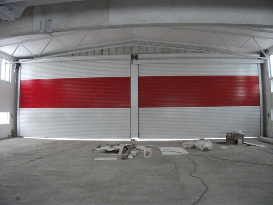 Рулонные ворота AL-120 проем 18х5 (изнутри)