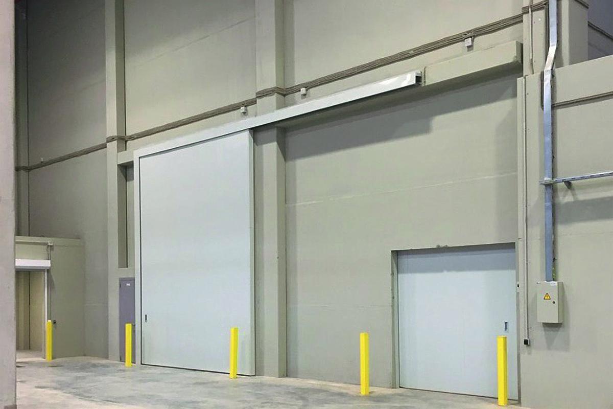 Противопожарные откатные ворота FireTechnics-P EI 60/EI 90/EI 120