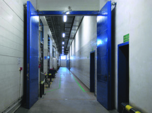 Автоматические противопожарные ворота от производителя